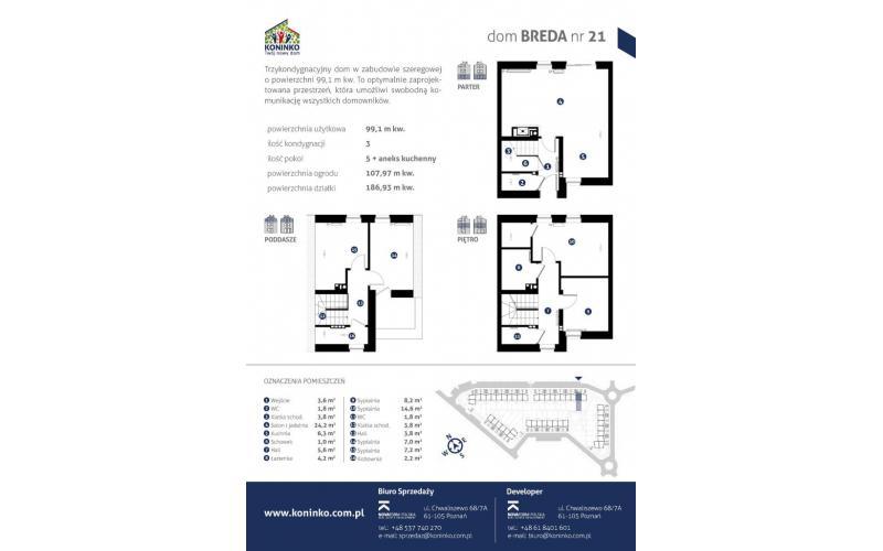 Mieszkanie Dom 5 Pokoi Powierzchnia 9910 M2 21