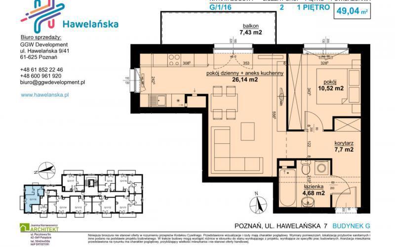 Hawelańska - Poznań, Winogrady, ul. Hawelańska, GGW Development Grynhoff, Woźny sp.j. - zdjęcie 10