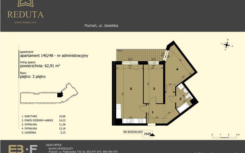 Reduta Nowe Podolany - kontynuacja - Poznań, Podolany, ul. Jasielska, EBF DEVELOPMENT Sp. z o.o. Sp.k. - zdjęcie 5