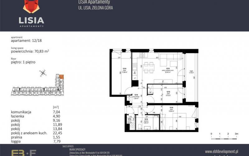 Lisia Apartamenty - Zielona Góra, ul. Lisia 12-14-16, EBF DEVELOPMENT Sp. z o.o. Sp.k. - zdjęcie 6