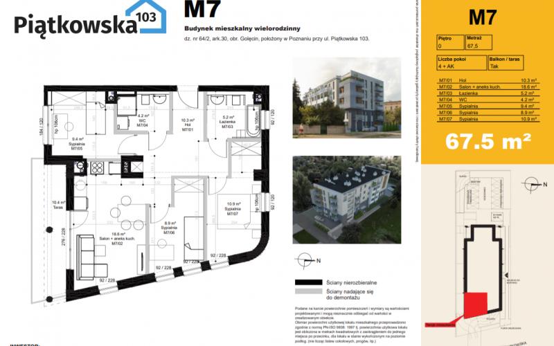 Piątkowska 103 - Poznań, Winiary, ul. Piątkowska 103, Quadro Development  - zdjęcie 7
