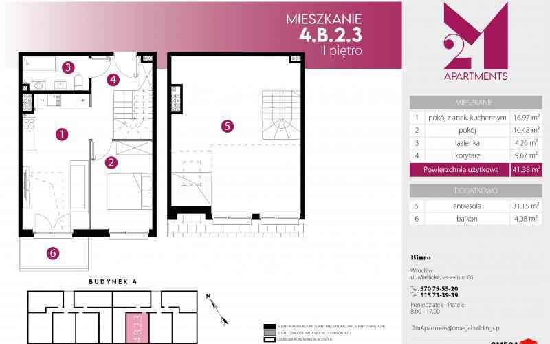2M Apartments - Wrocław, Maślice, ul. Maślicka, Omega Buildings Sp. z o.o. B Sp.k. - zdjęcie 3
