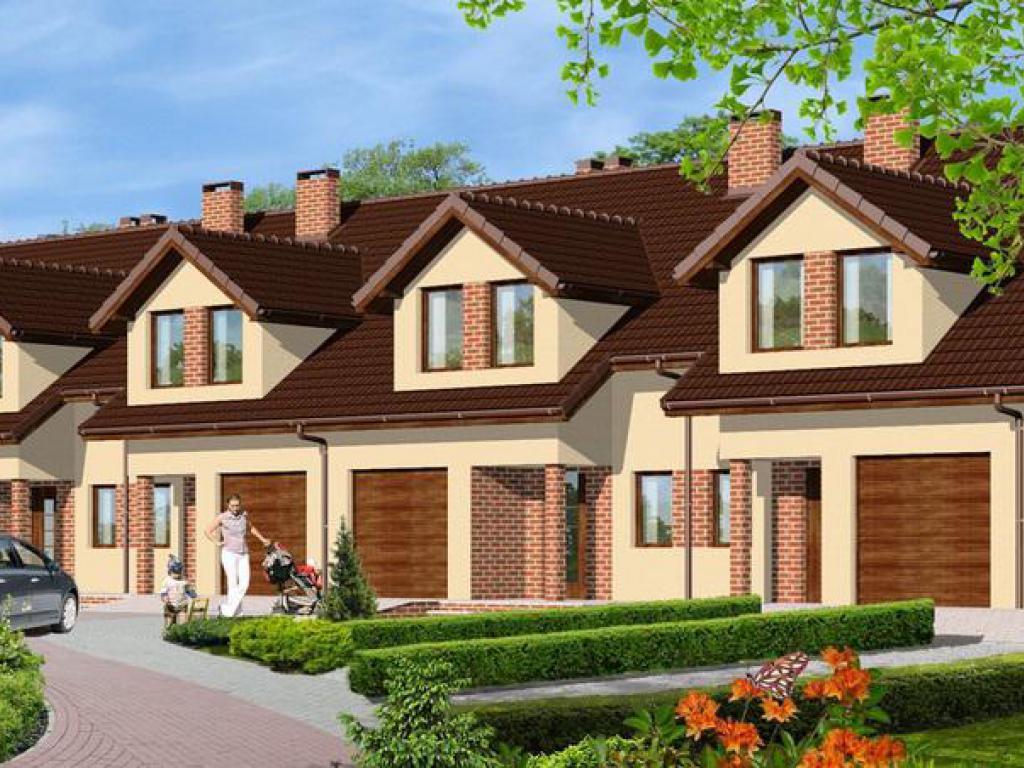 domy Domy w zabudowie szeregowej