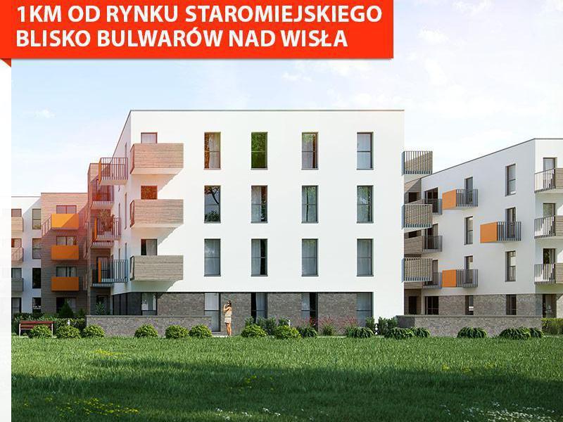 nowe mieszkania - Murapol - Apartamenty Staromiejskie - nowe mieszkanie już od 531 zł/miesięcznie - fot.2