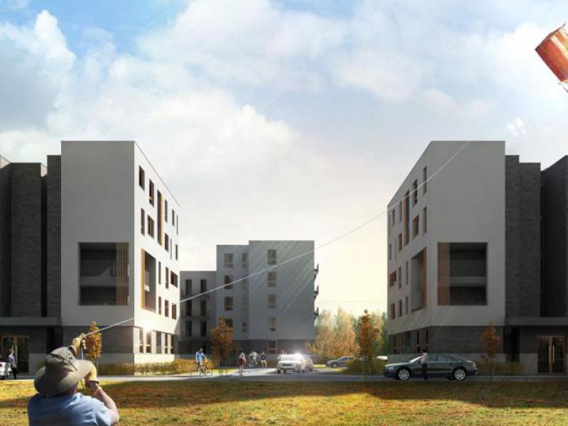 nowe mieszkania - Osiedle Botanik IV - fot.1