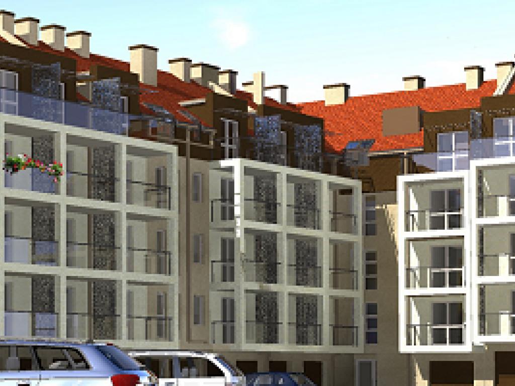 mieszkania Osiedle mieszkaniowe w Ostródzie przy ul. Słowackiego
