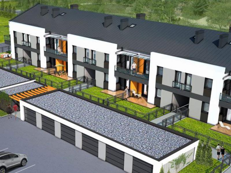 nowe domy - Bursztynowa Dolna II - fot.0