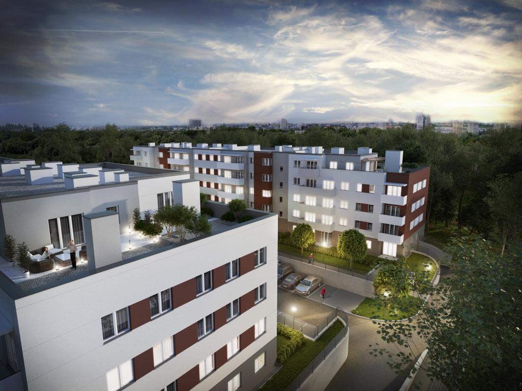 mieszkania Murapol Śląskie Tarasy - mieszkanie Katowice