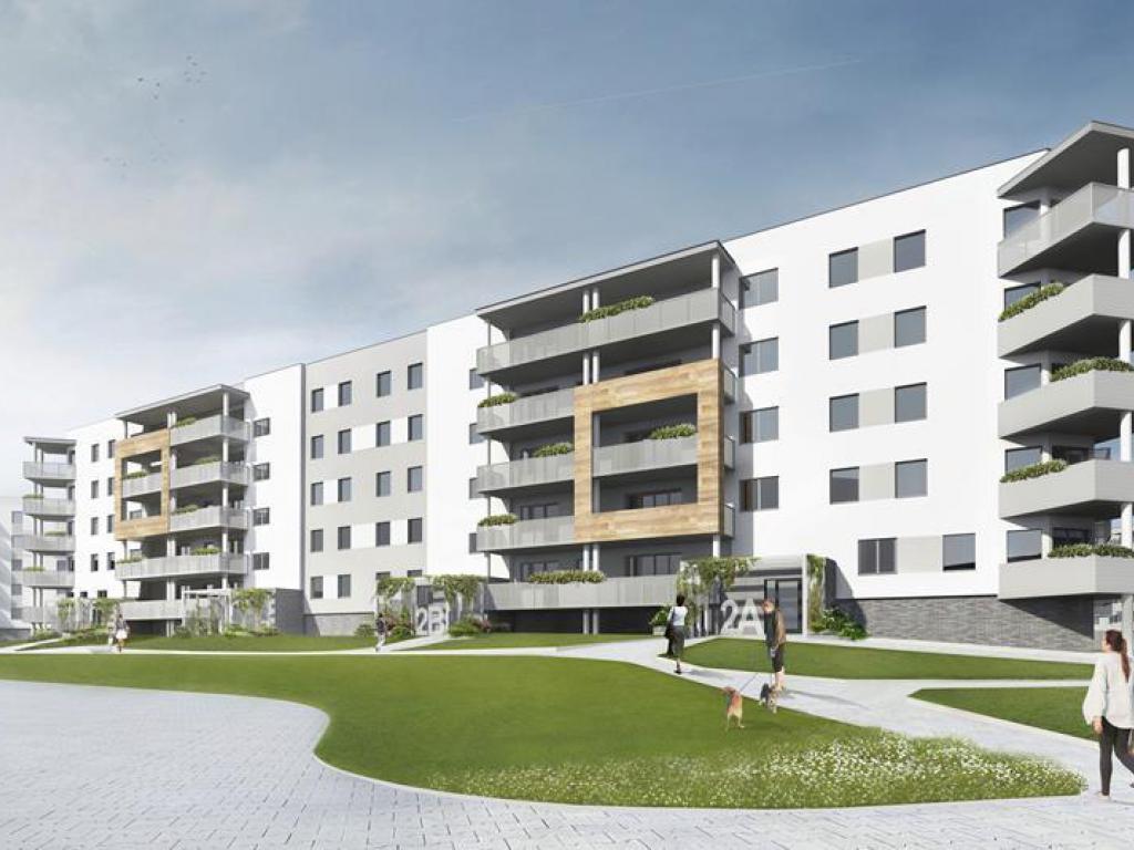 mieszkania Osiedle Europejskie budynek 12