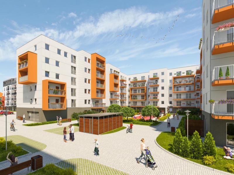 nowe mieszkania - Wilczak 20 etap IV - fot.1