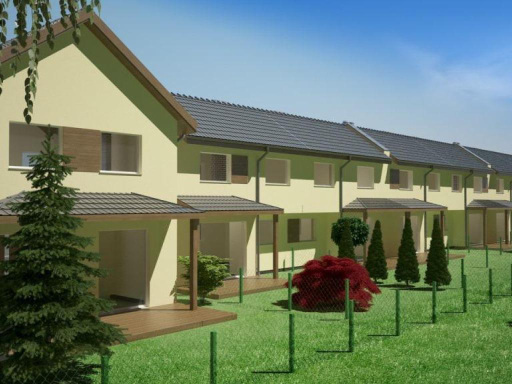 domy Osiedle Świerkowe w Walerianowie