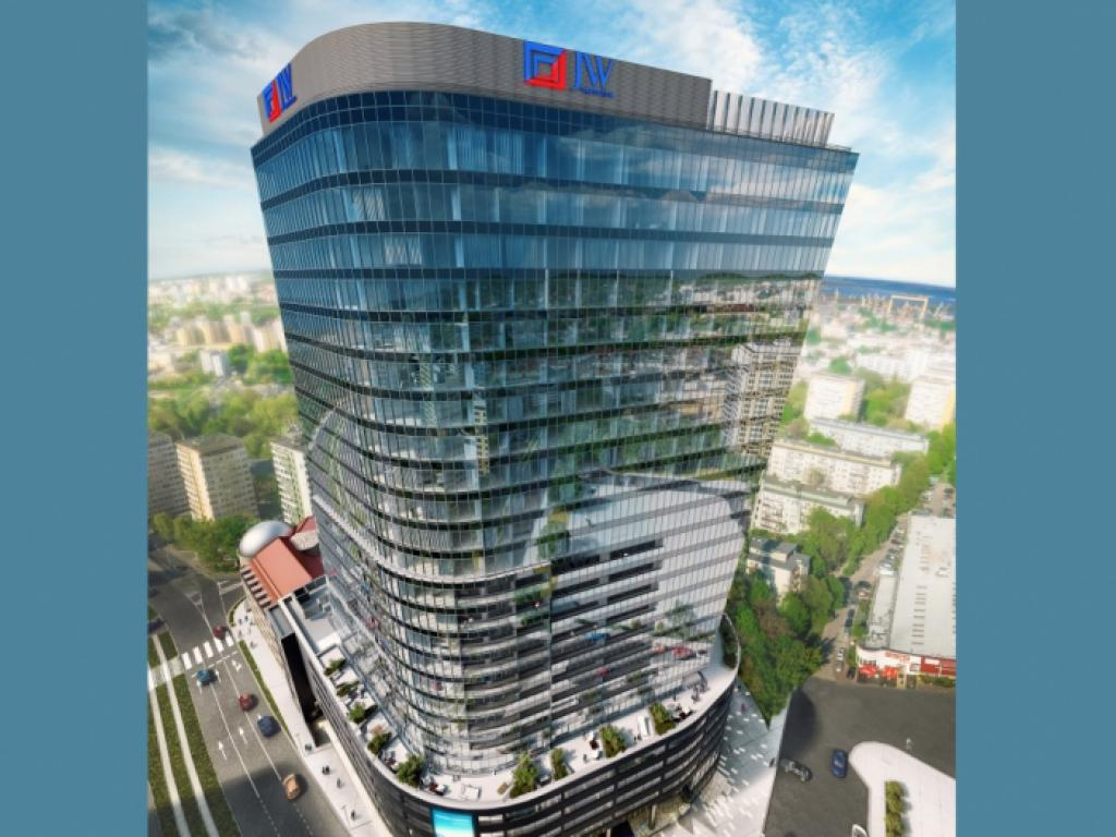 Hanza Tower, źródło: J.W. Construction