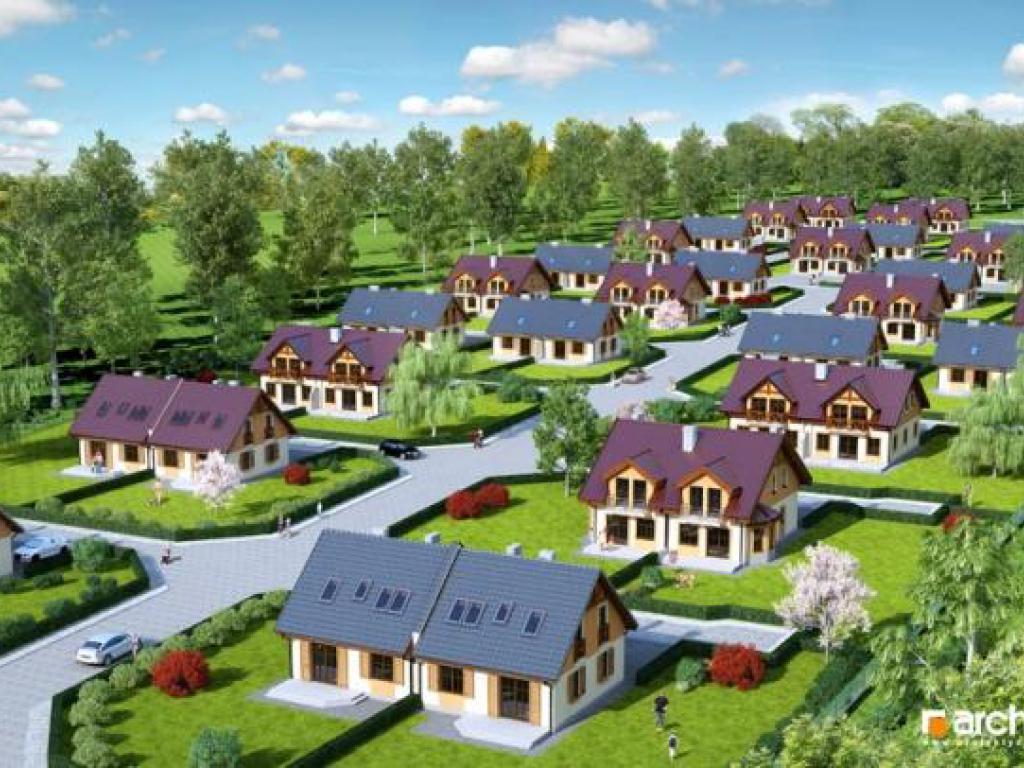 nowe domy - Osiedle Nadolice Młyn - fot.0