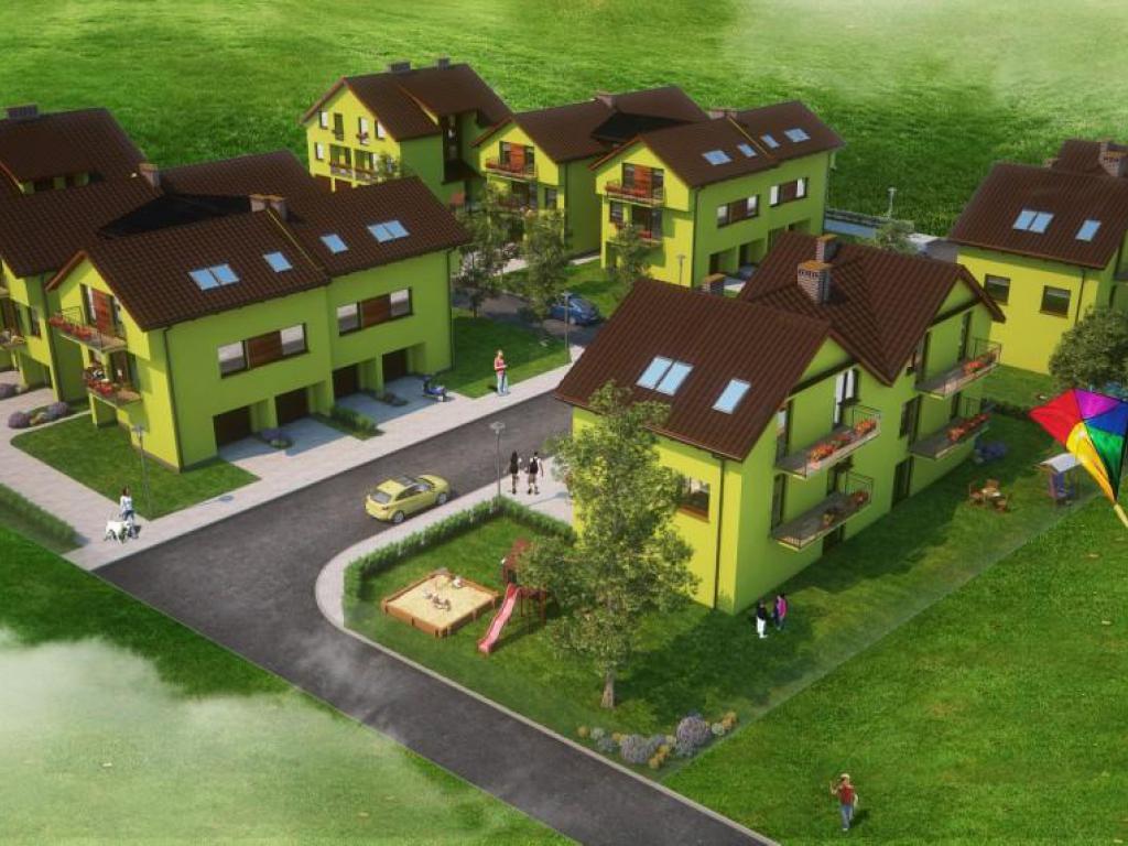 nowe mieszkania - Nowe osiedle w Kluczborku przy ul. Kilińskiego Etap II - fot.0