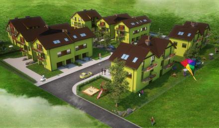 mieszkanie                           - Nowe osiedle w Kluczborku przy ul. Kilińskiego Etap II
