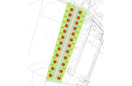 Plan osiedla - Palędzie II