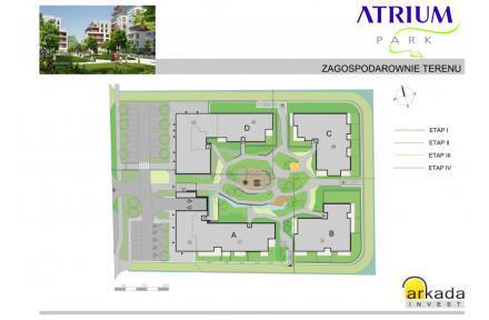 Plan osiedla - Atrium Park A
