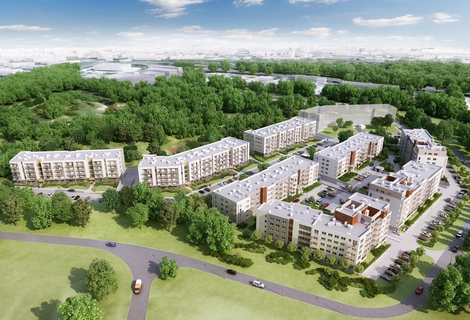 EBF Development Reduta Nowe Podolany